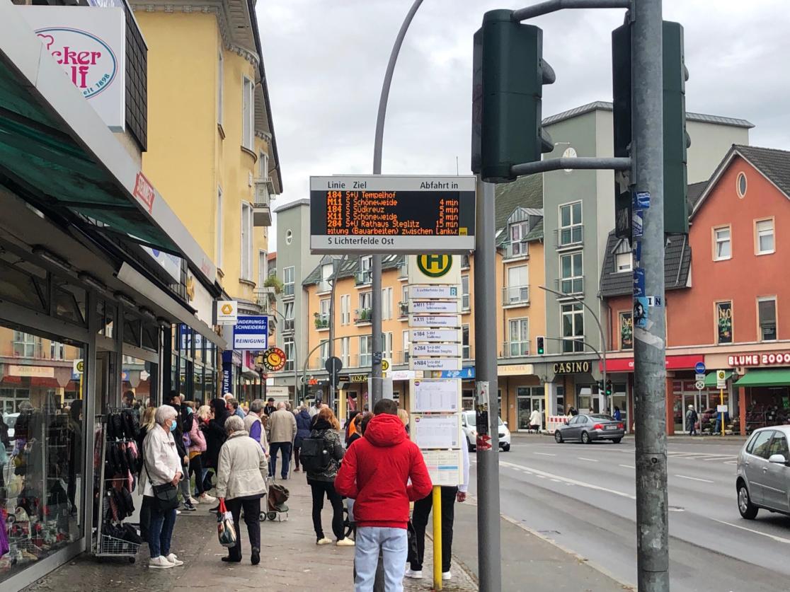 Verkehrsknotenpunkt Kranoldplatz